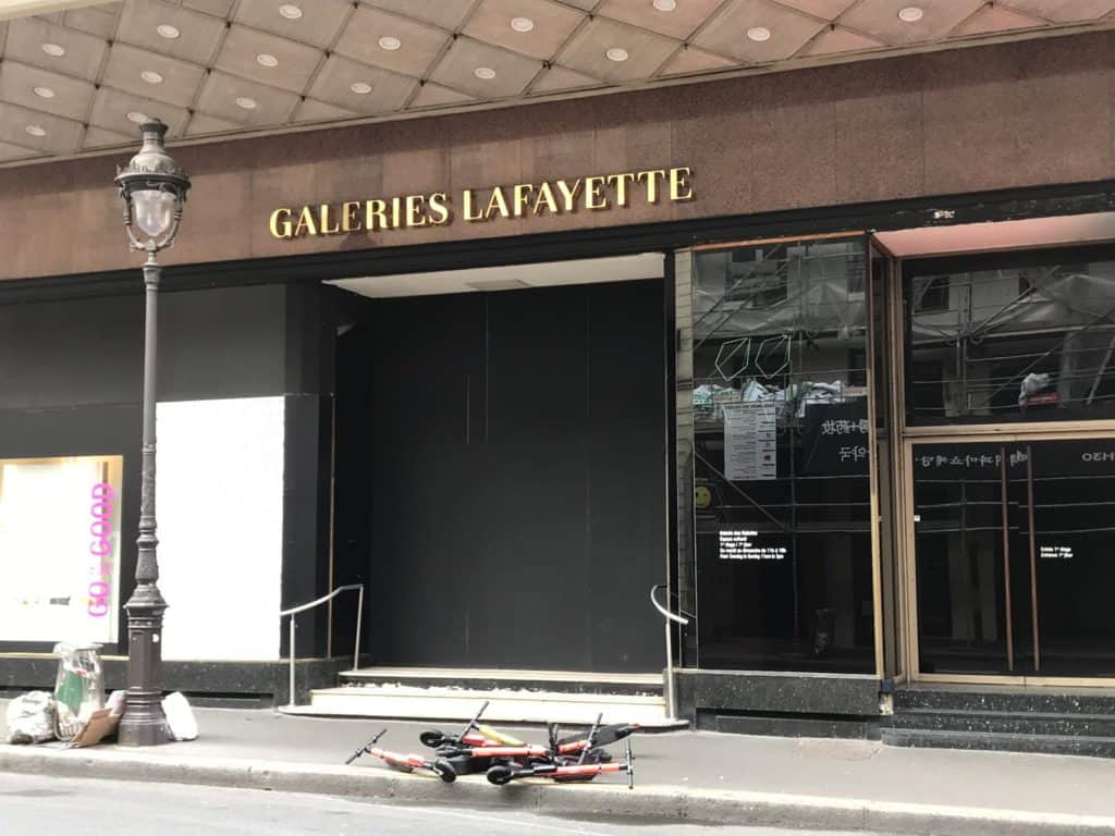 Hulajnogi Paryż