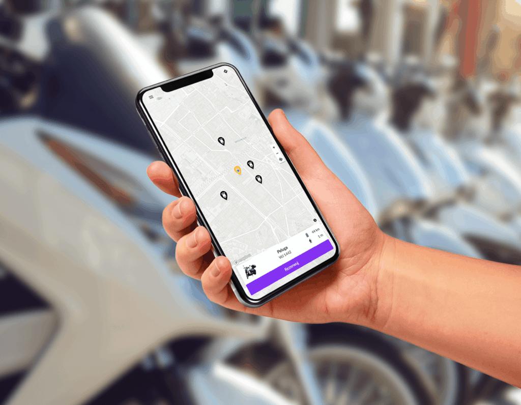 Hop.City smartfon z aplikacją