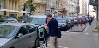 E-hulajnogi w Europie wg Politico