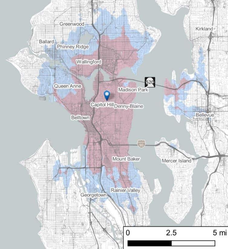 Mikromobilność hulajnogi praca - Seattle
