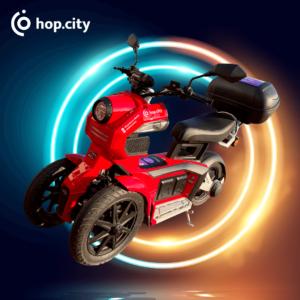 Trójkołowy skuter Hop.City