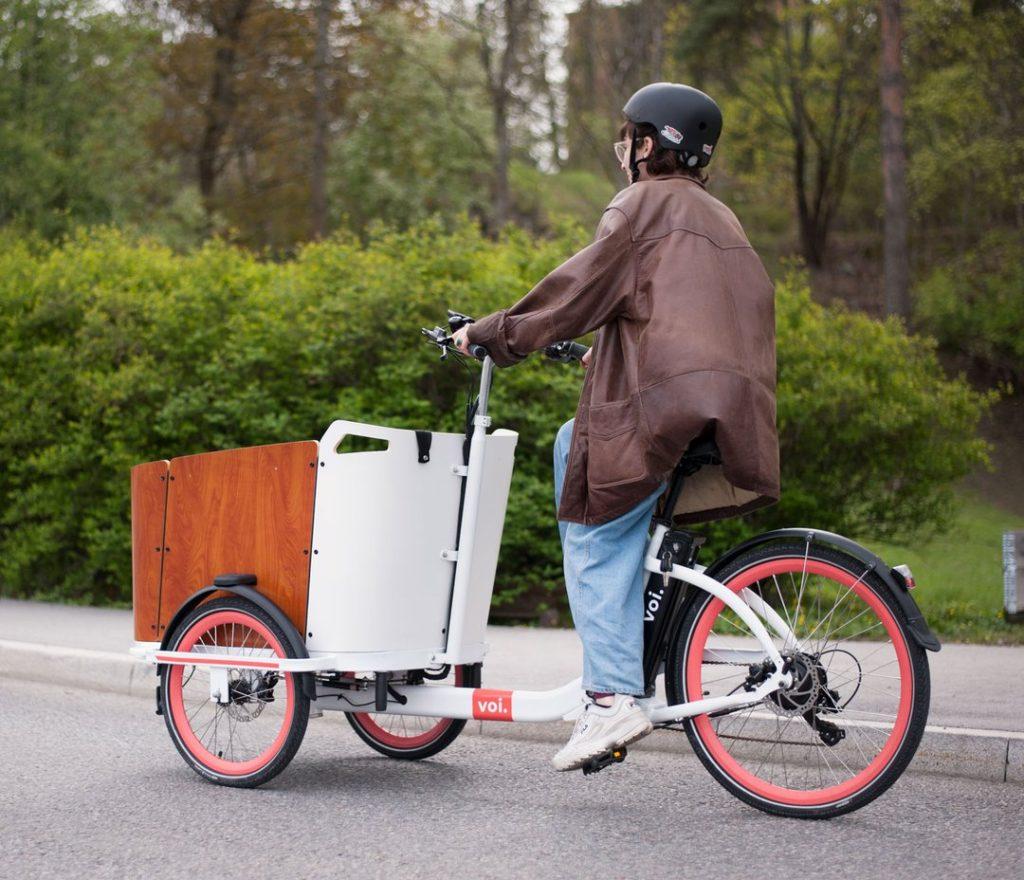 Voi rower cargo