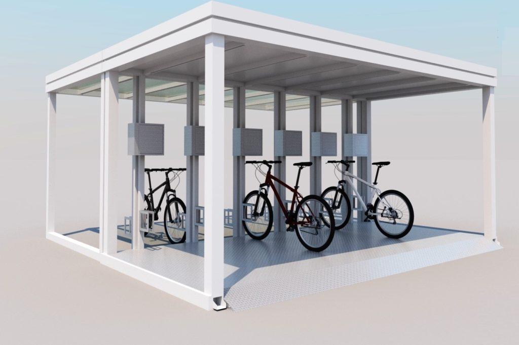 Stacja ładowania e-bike