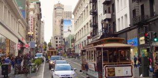 San Francisco badanie parkowanie hulajnóg