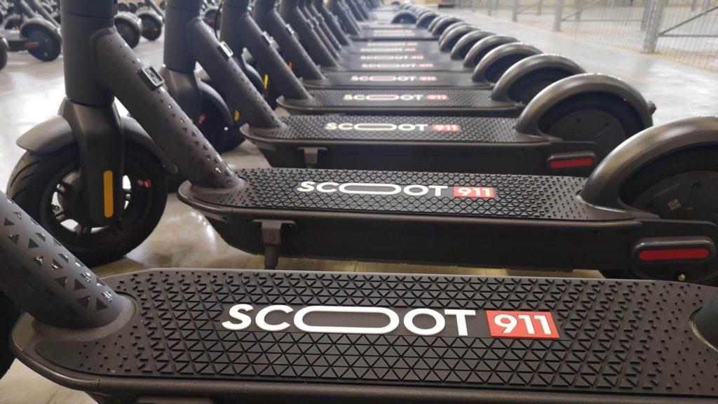 Scoot911 pojazdy