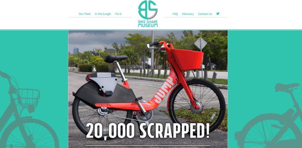Bike Share Museum: rowery Jump idą na złom