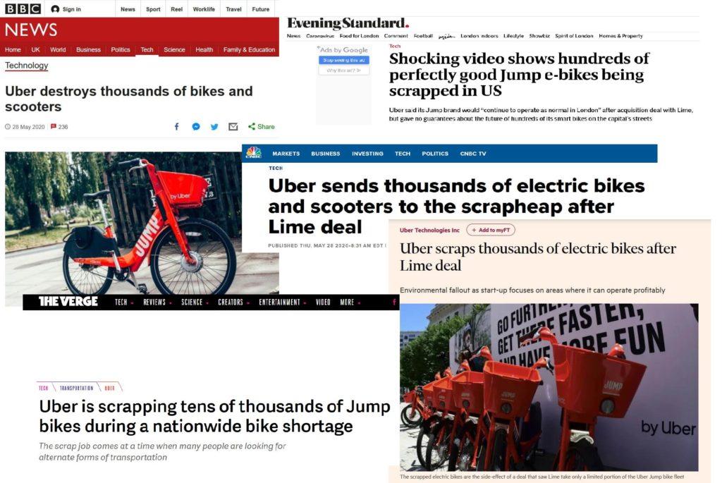 Temat Uber-Jump, który nagłośnił Kurt Kaminer, przebił się do mediów