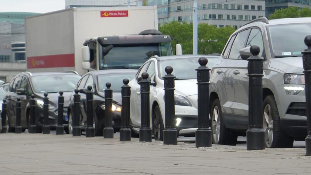 Korek w Warszawie