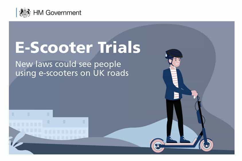Hulajnogi w Wielkiej Brytanii - w maju trwały konsultacje społeczne