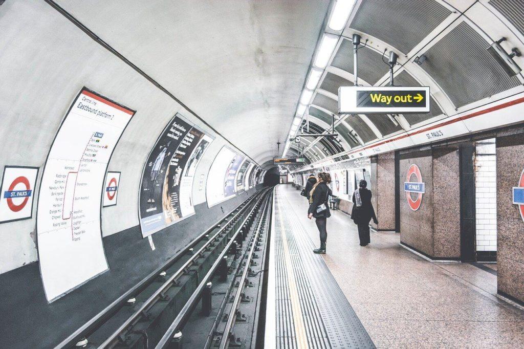 Londyn - metro