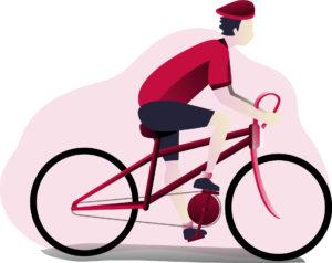 Paweł Droździak - rozmowa - rower