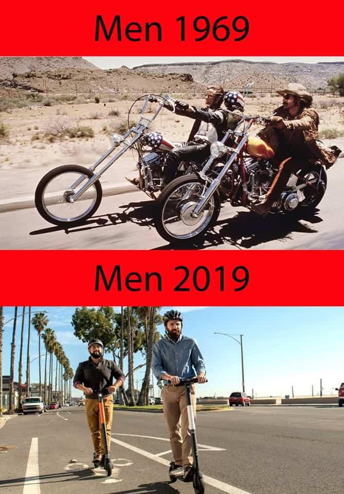 Men 1969-2019