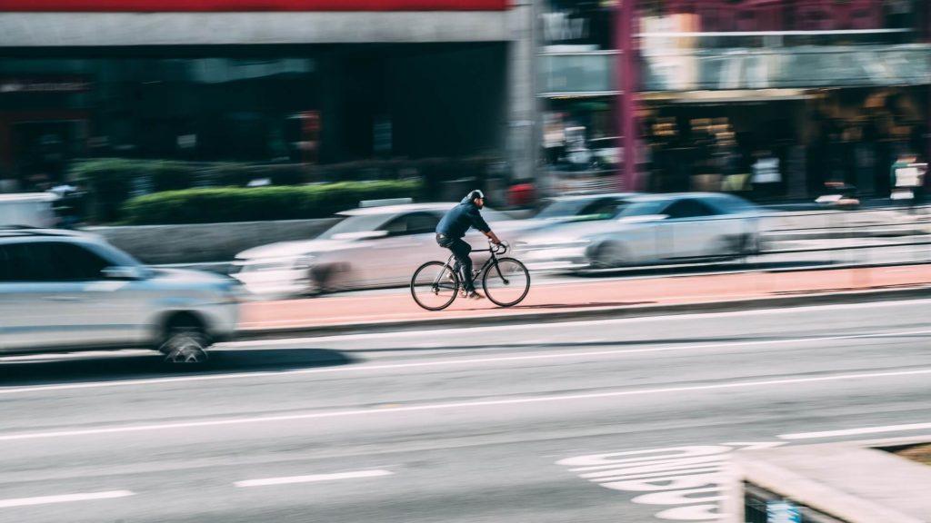 Rower bywa lepszy w mieście niż hulajnoga