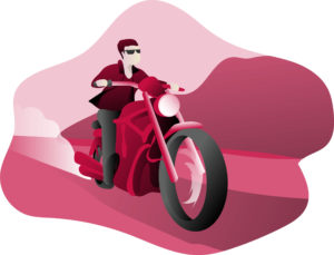 Paweł Droździak - rozmowa - motocykl