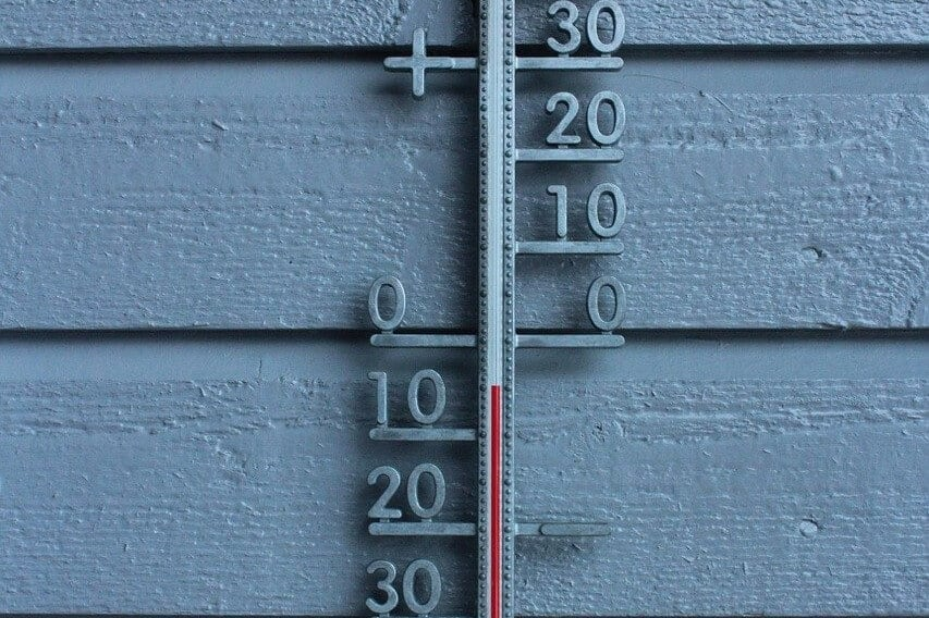Temperatura a bateria w hulajnodze