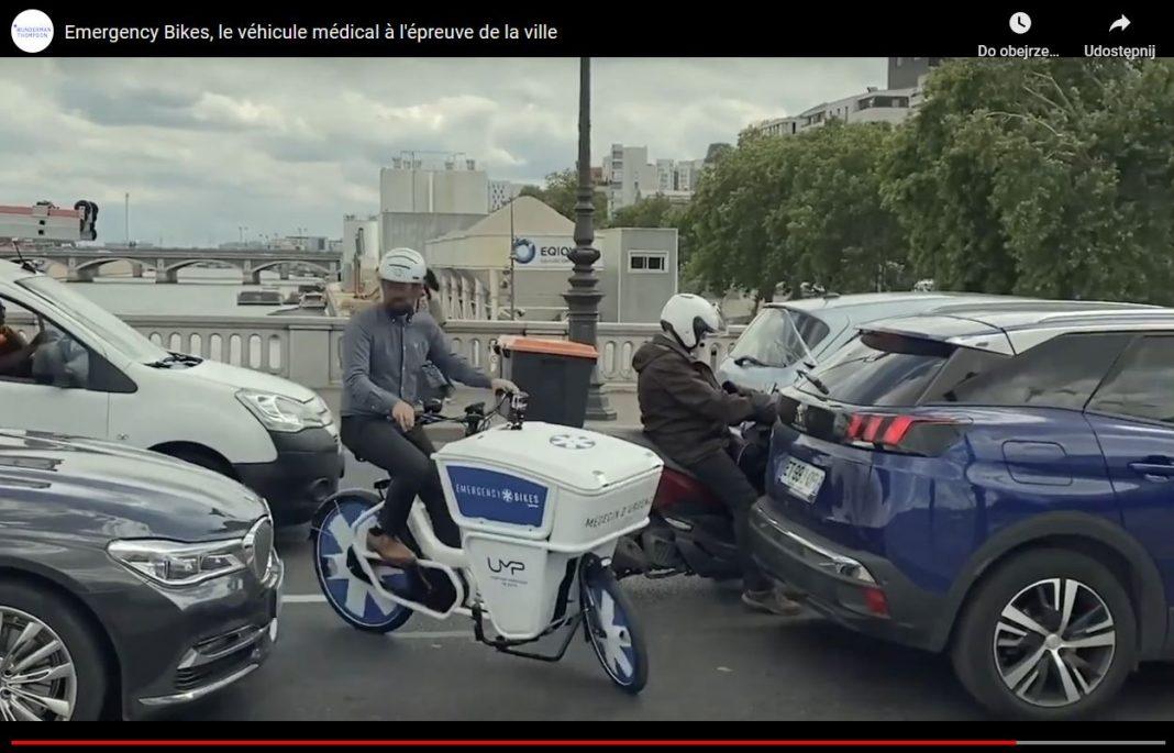 Emergency bike, czyli ratowniczy rower medyczny