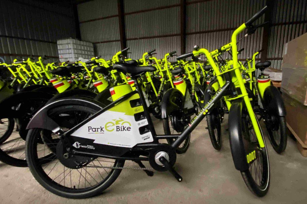 Kraków - rowery elektryczne Park e Bike