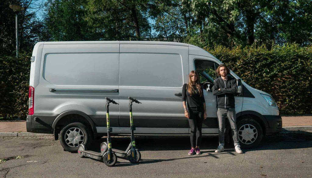 Elektryczne hulajnogi Elo Scooters - firma stawia na małe miasta