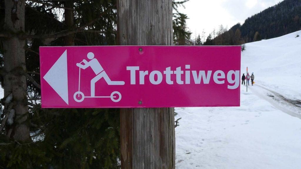 Szlak dla hulajnóg w Szwajcarii