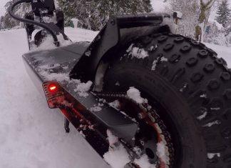 Hulajnoga elektryczna zimą