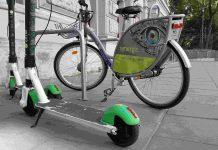 Elektryczne hulajnogi prawie dogoniły bikesharing