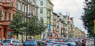 Bydgoszcz - ruch uliczny