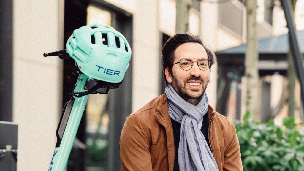 Mathieu Deloy zmienił firmę Bird na Tier, gdzie jest dyrektorem zarządzającym na Polskę