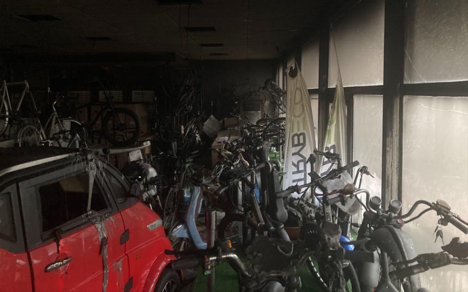 Pożar w firmie TrybEco