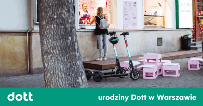 1. urodziny Dott w Warszawie