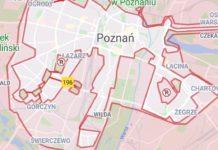 Bolt - strefa w Poznaniu
