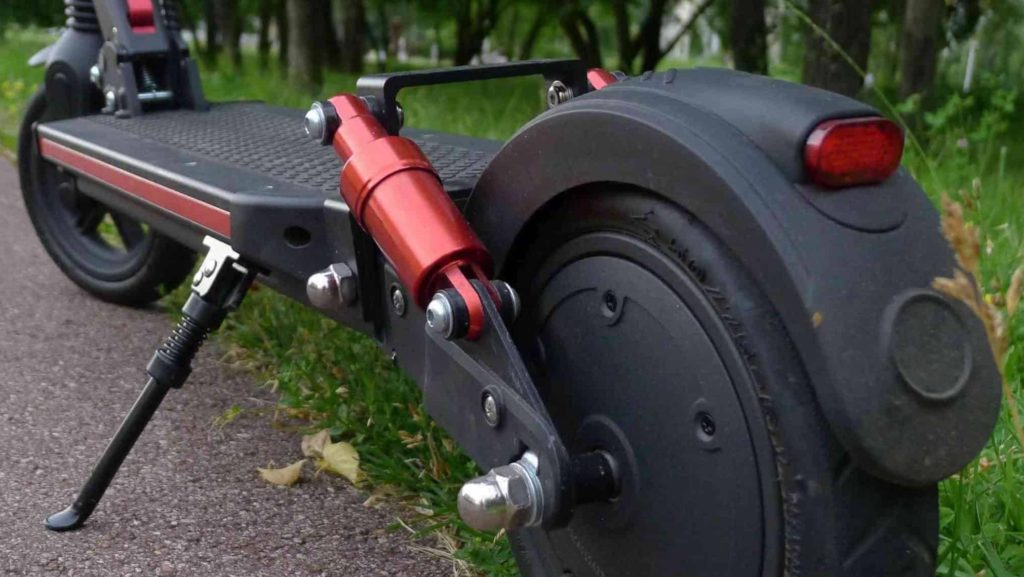 Hulajnoga miejska Joyor G5 - po złożeniu