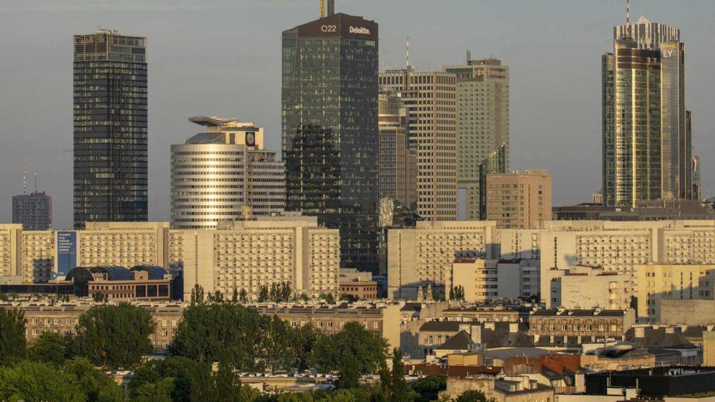 Warszawa - panorama