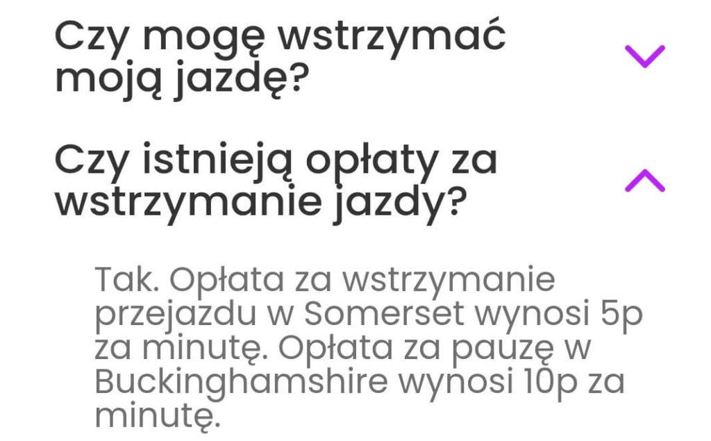 Zipp -informacje dla użytkowników