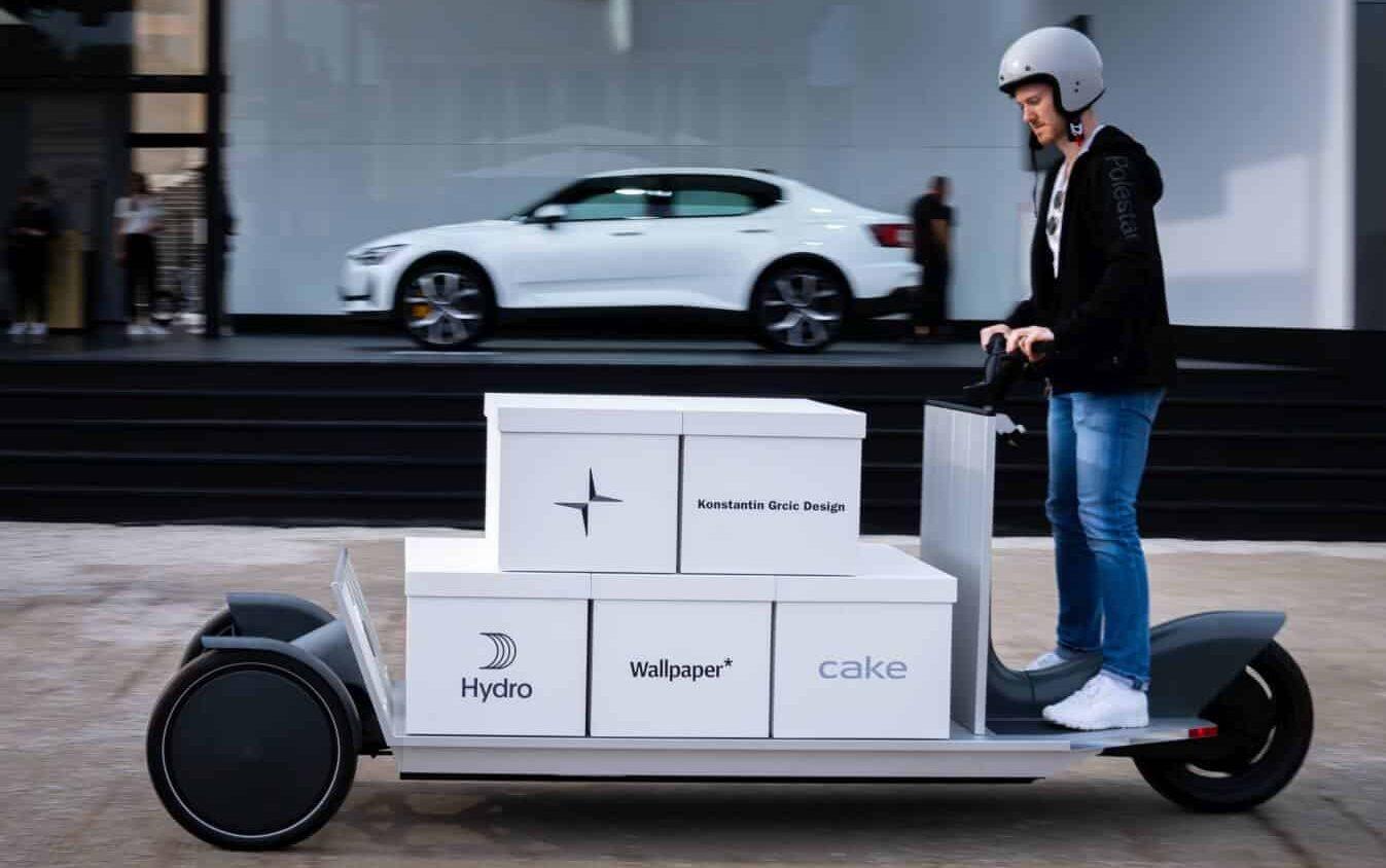 Re:Move - hulajnoga towarowa w koncepcji firmy Polestar