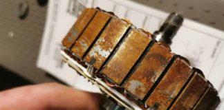 Elektryczna hulajnoga po zalaniu - silnik - korozja